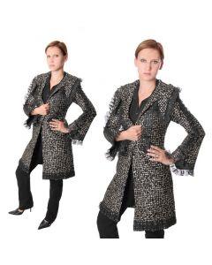 Damen kurz Mantel
