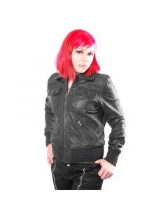 Damen Leder Jacke Style No.VHL231