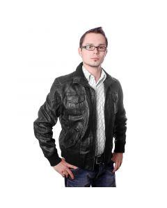 Herren Leder Jacke Style No.SB 5000
