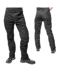5 Pocket Leder Hose mit RV