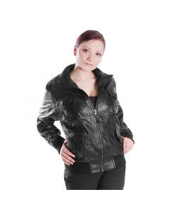 Damen Lederjacke SB5000