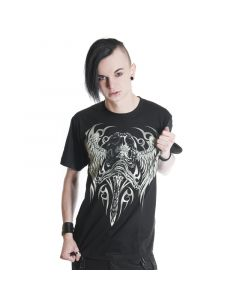 gothic Tribal Skull Tshirt