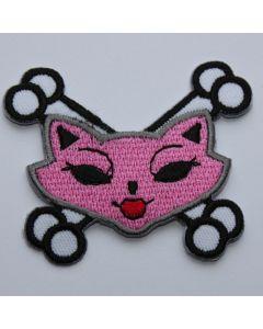 Aufnäher Crossbone Kitty